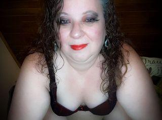 Schöne Bilder von mir in Lingerie rot mit Schwarz.