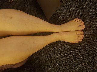 Meine geilen Füsse schön anzusehen