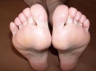 hautnah an meinem schönen Füßen