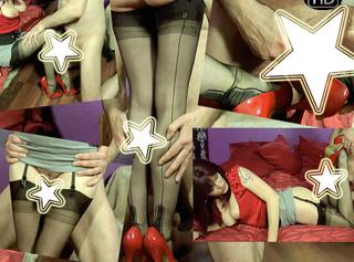 """Vorschaubild vom Privatporno mit dem Titel """"Cumslave Stockings Legfuck!"""""""