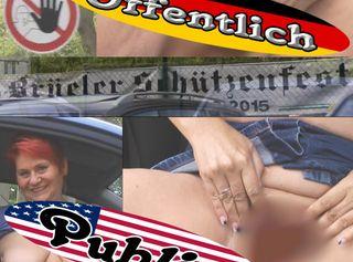 """Vorschaubild vom Privatporno mit dem Titel """"Auf dem Schützenfest Parkplatz"""""""