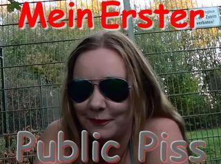"""Vorschaubild vom Privatporno mit dem Titel """"Mein erster Public Piss"""""""