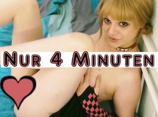 """Vorschaubild vom Privatporno mit dem Titel """"Nur 4 Minuten bis du abspritzt!"""""""