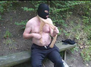 """Vorschaubild vom Privatporno mit dem Titel """"Nylon und Maske auf Seilbahnberg ** Outdoor Spaß **"""""""