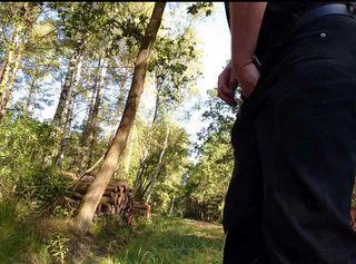 """Vorschaubild vom Privatporno mit dem Titel """"Pissen beim Spaziergang"""""""