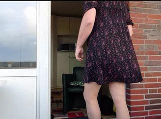 """Vorschaubild vom Privatporno mit dem Titel """"Kaffee an der Tür zum Balkon im Urlaub ** Wangerland 2019 **"""""""