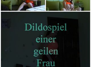 """Vorschaubild vom Privatporno mit dem Titel """"Dildospiele einer geilen Milf"""""""