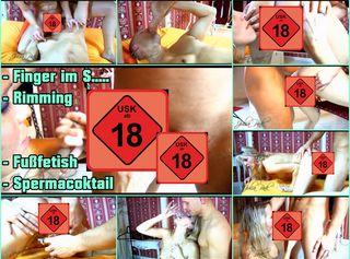"""Vorschaubild vom Privatporno mit dem Titel """"Finger im Schwanz und Arsch geleckt"""""""