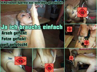 """Vorschaubild vom Privatporno mit dem Titel """"GB für meine Milffotze und Arsch"""""""