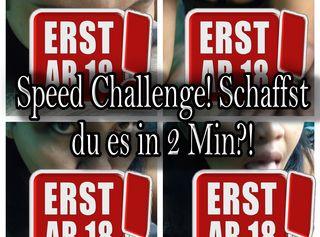 """Vorschaubild vom Privatporno mit dem Titel """"Speed Challenge!Schaffst du es in 2 Min?!"""""""