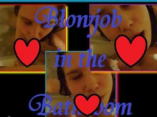 """Vorschaubild vom Privatporno mit dem Titel """"Blowjob in the Bathroom"""""""