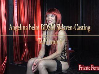 """Vorschaubild vom Privatporno mit dem Titel """"Angelina beim BDSM Sklaven-Casting - Teil 1 von 4"""""""