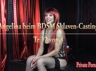 """Vorschaubild vom Privatporno mit dem Titel """"Angelina beim BDSM Sklaven-Casting - Teil 2 von 4"""""""