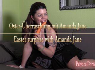 """Vorschaubild vom Privatporno mit dem Titel """"An Ostern lutsche ich Rübe, Eier und Schwanz mit Spermaglück"""""""