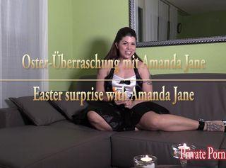 """Vorschaubild vom Privatporno mit dem Titel """"An Ostern lutsche ich Rübe, Eier und Schwanz mit Spermaglück - Vorschau"""""""
