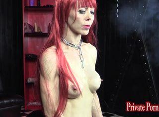 """Vorschaubild vom Privatporno mit dem Titel """"Training der Lady O - Tag 2 mit Sklavin Angelina - Teil 2 von 3"""""""