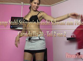 """Vorschaubild vom Privatporno mit dem Titel """"Junge Stuhl-Stripperin braucht Schwanz zum Ficken - Teil 2 von 2"""""""