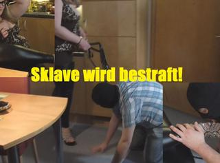 """Vorschaubild vom Privatporno mit dem Titel """"Sklave wird von mir bestraft"""""""