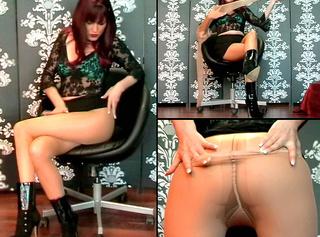 """Vorschaubild vom Privatporno mit dem Titel """"Userwunsch- 2x Pantyhose"""""""