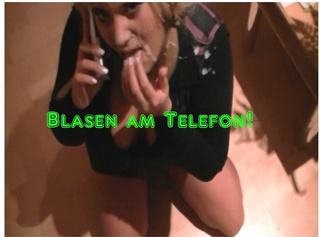 """Vorschaubild vom Privatporno mit dem Titel """"Blasen am Telefon"""""""