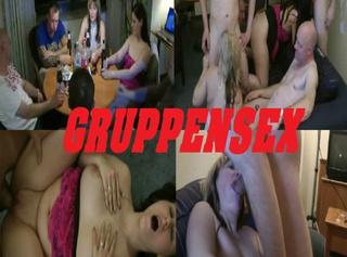 """Vorschaubild vom Privatporno mit dem Titel """"GRUPPENSEX UND DICKES SPERMA"""""""