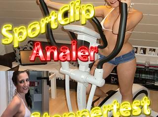 """Vorschaubild vom Privatporno mit dem Titel """"Sportclip - Analer Steppertest"""""""