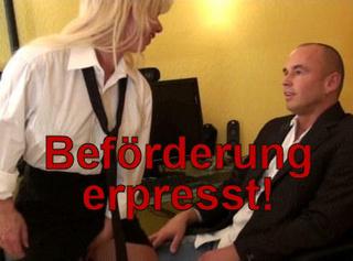 """Vorschaubild vom Privatporno mit dem Titel """"Beförderung erpresst!!"""""""