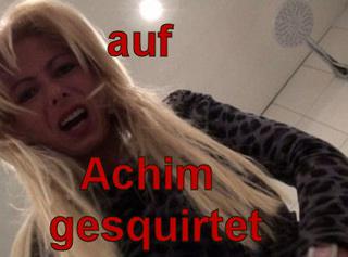 """Vorschaubild vom Privatporno mit dem Titel """"Auf Achim gesquirtet!"""""""