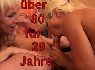 """Vorschaubild vom Privatporno mit dem Titel """"über 80Jahre für 20Jahre!"""""""