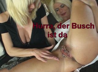 """Vorschaubild vom Privatporno mit dem Titel """"Hurra, der Busch ist da!!"""""""
