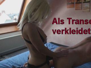 """Vorschaubild vom Privatporno mit dem Titel """"Als Transe verkleidet!"""""""