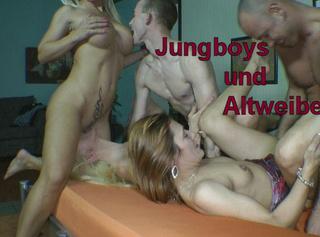 """Vorschaubild vom Privatporno mit dem Titel """"Jungboys und Altweiber!"""""""