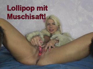 """Vorschaubild vom Privatporno mit dem Titel """"Lollipop mit Muschisaft!"""""""