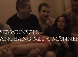 """Vorschaubild vom Privatporno mit dem Titel """"Gangbang mit 4 Usern"""""""