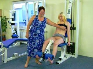 """Vorschaubild vom Privatporno mit dem Titel """"Erotisches Fitnesstraining...."""""""