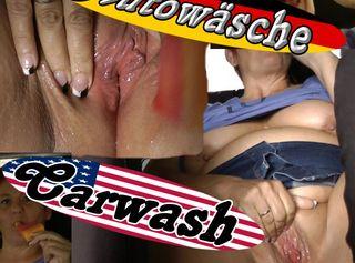 """Vorschaubild vom Privatporno mit dem Titel """"Zeitvertreib in der Waschstraße"""""""