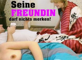 """Vorschaubild vom Privatporno mit dem Titel """"Seine Freundin darf nichts merken!"""""""