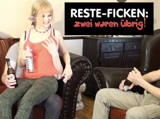 """Vorschaubild vom Privatporno mit dem Titel """"RESTE-FICKEN: zwei waren übrig!"""""""
