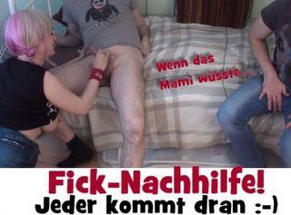 """Vorschaubild vom Privatporno mit dem Titel """"Fick-Nachhilfe! Jeder kommt dran!"""""""