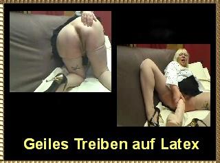 """Vorschaubild vom Privatporno mit dem Titel """"Geiles Treiben auf Latex"""""""