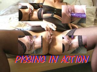 """Vorschaubild vom Privatporno mit dem Titel """"Pissing in Action"""""""