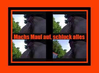 """Vorschaubild vom Privatporno mit dem Titel """"machs Maul auf, schluck alles"""""""