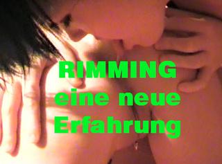 """Vorschaubild vom Privatporno mit dem Titel """"RIMMING - eine neue Erfahrung"""""""