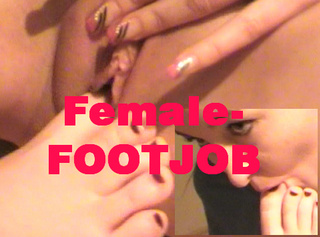 """Vorschaubild vom Privatporno mit dem Titel """"FEMALE Footjob"""""""