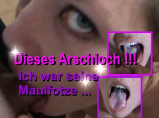 """Vorschaubild vom Privatporno mit dem Titel """"Dieses Arschloch - Ich war seine Maulfotze"""""""