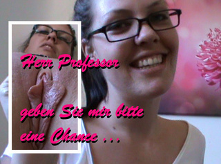 """Vorschaubild vom Privatporno mit dem Titel """"Herr Professor ... geben Sie mir eine Chance"""""""