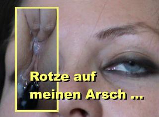 """Vorschaubild vom Privatporno mit dem Titel """"Rotze auf meinen Arsch"""""""