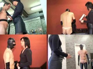 """Vorschaubild vom Privatporno mit dem Titel """"Der Fremde in Latex"""""""