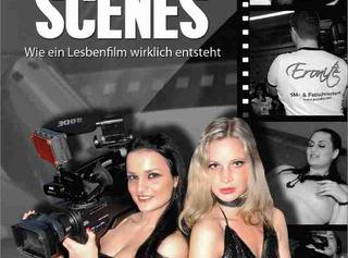 """Vorschaubild vom Privatporno mit dem Titel """"Behind the Scenes - Wie ein Lesbenfilm wirklich entsteht [Trailer]"""""""