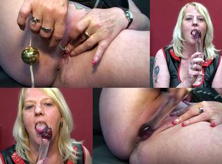 """Vorschaubild vom Privatporno mit dem Titel """"Die geile Perle besorgt es sich hart"""""""